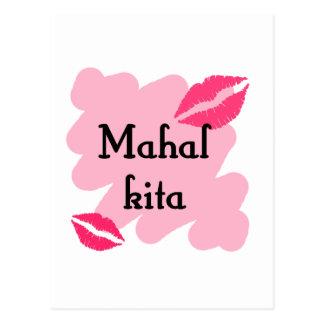 MAHAL KITA  - Tagalog I love you Post Cards