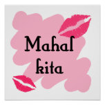 MAHAL KITA - Tagalogo te amo Impresiones