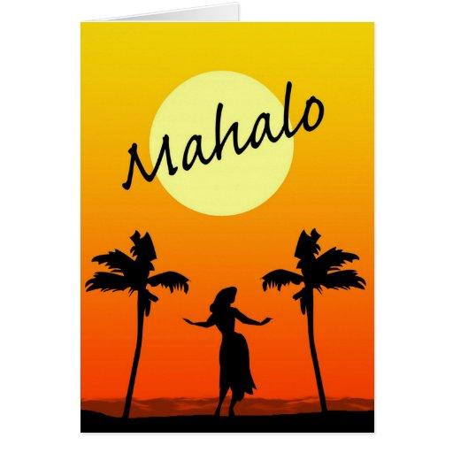 Mahalo cards mahalo card templates postage invitations photocards