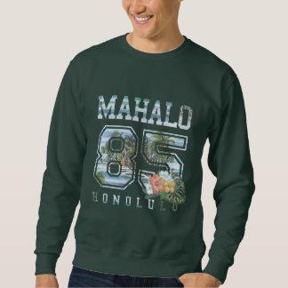 Mahalo Honolulu 85, Flowers Sweatshirt