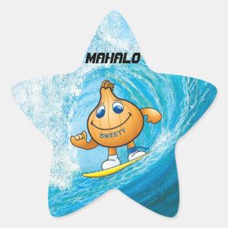 MAHALO STAR STICKER