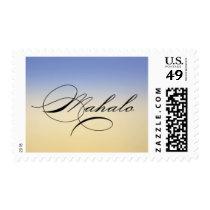 Mahalo Sunrise Postage Stamp - Design #24