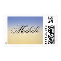Mahalo Sunrise Postage Stamp - Design #25