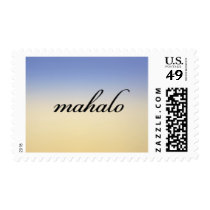 Mahalo Sunrise Postage Stamp - Design #26