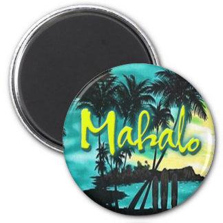 Mahalo Sunset Magnet