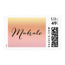 Mahalo Sunset Postage Stamp - Design #12