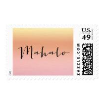 Mahalo Sunset Postage Stamp - Design #18