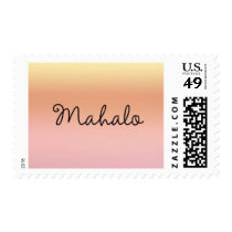 Mahalo Sunset Postage Stamp - Design #8