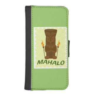Mahalo Tiki God iPhone SE/5/5s Wallet Case