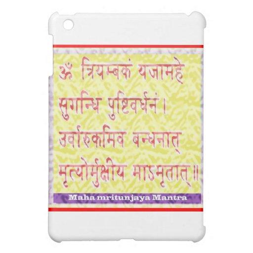 MAHAMRITUNJAYA Mantra - Golden Yellow Case For The iPad Mini