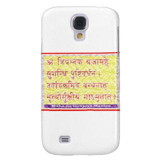 MAHAMRITUNJAYA Mantra - Golden Yellow Samsung Galaxy S4 Cover