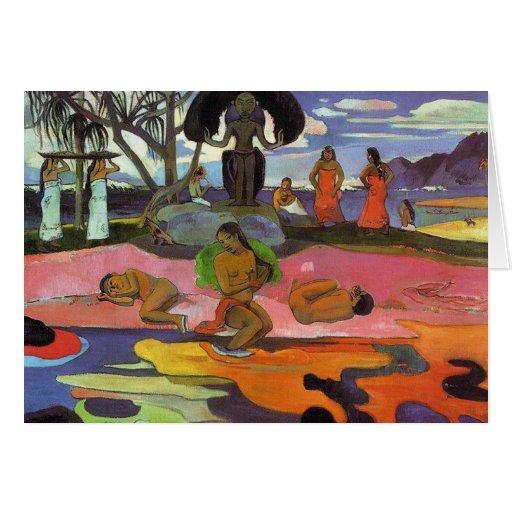 """""""Mahana ninguna tarjeta de Atua"""" - Paul Gauguin"""