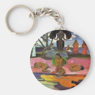 'Mahana No Atua' - Paul Gauguin Keychain