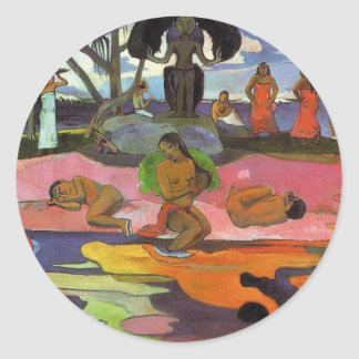 'Mahana No Atua' - Paul Gauguin Sticker