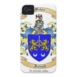 Mahar Family Crest iPhone 4 Cover