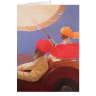 Maharaja at Speed 2010 Card
