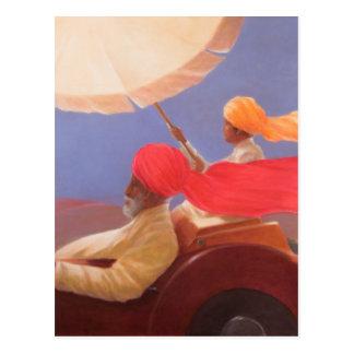 Maharaja at Speed 2010 Postcard