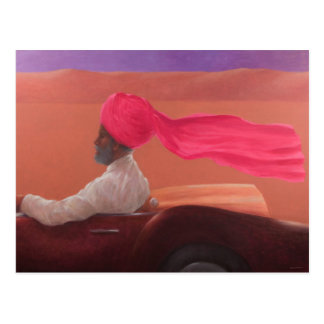 Maharajah at Speed 2 Postcard