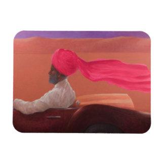 Maharajah at Speed 2 Rectangular Photo Magnet