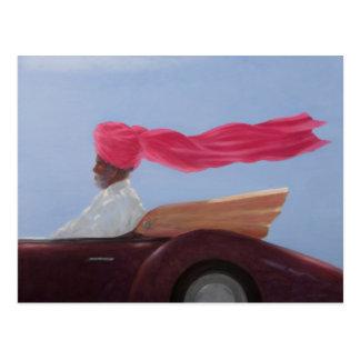 Maharajah at Speed Postcard