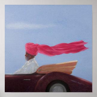 Maharajah at Speed Poster