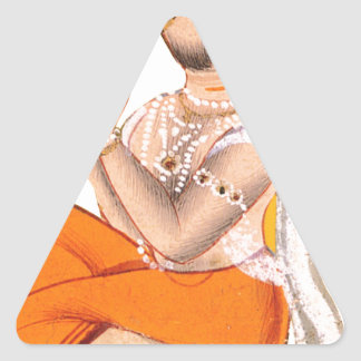 Maharana Jagai Singh II Pegatina Triangular