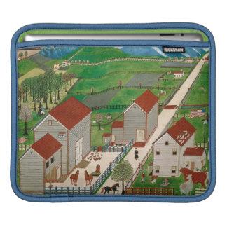Mahatango Valley Farm, late 19th century Sleeve For iPads