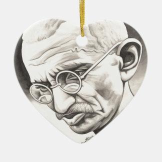 Mahatma Gandhi Adornos De Navidad