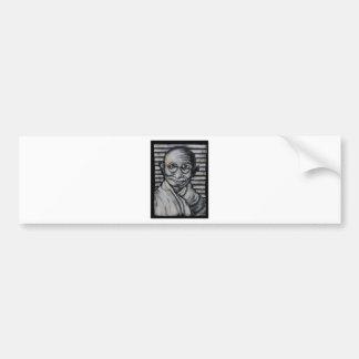 Mahatma Gandhi Bumper Sticker