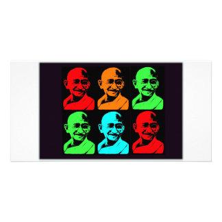 Mahatma Gandhi Collage Card