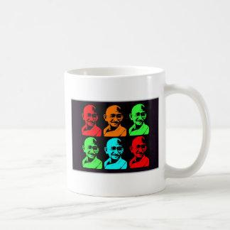 Mahatma Gandhi Collage Coffee Mug