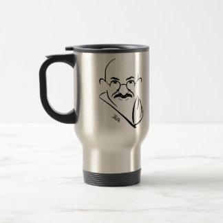 Mahatma Gandhi Commuter Cup Coffee Mugs
