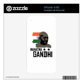 Mahatma Gandhi Decals For iPhone 4S