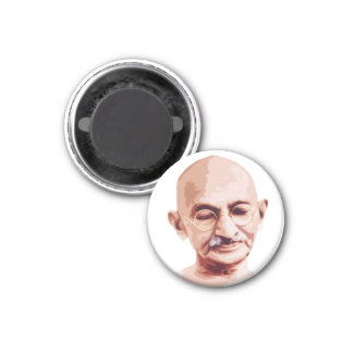 Mahatma Gandhi Father of India Fridge Magnet