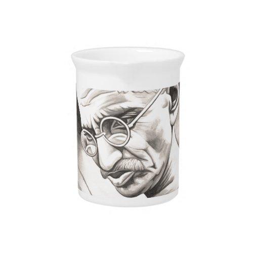 Mahatma Gandhi Jarras De Beber