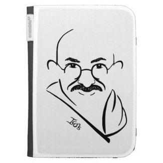 Mahatma Gandhi Kindle Case