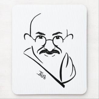 Mahatma Gandhi Mousepad