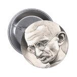 Mahatma Gandhi Pinback Button