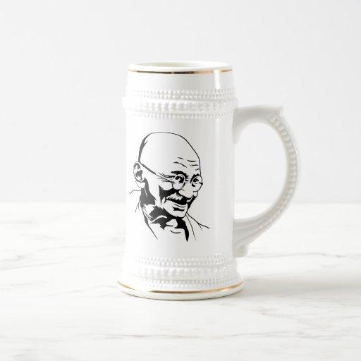 Mahatma Gandhi Portrait Mug
