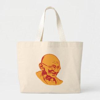 Mahatma Gandhi Portrait Tote Bag