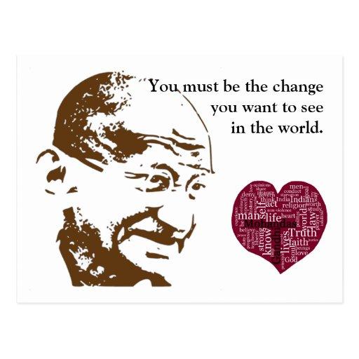 Mahatma Gandhi Post Card