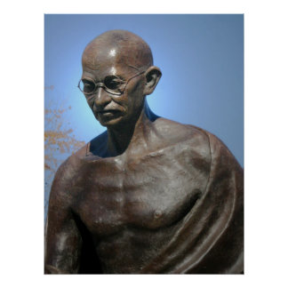 Mahatma Gandhi Póster
