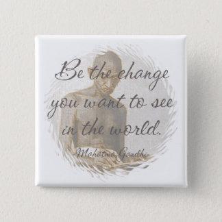 Mahatma Gandhi Quote Button