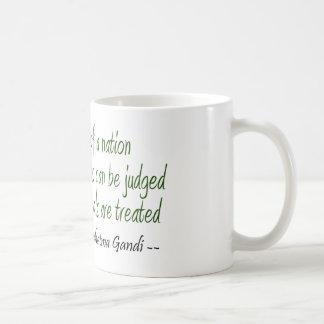 Mahatma Gandhi Quote Coffee Mug