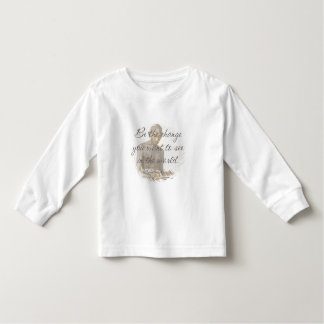 Mahatma Gandhi Quote Toddler T-Shirt
