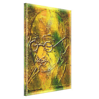 Mahatma Gandhi Stretched Canvas Print