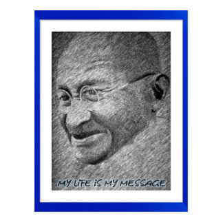 Mahatma Gandhi Postales