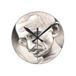 Mahatma Gandhi Wallclock