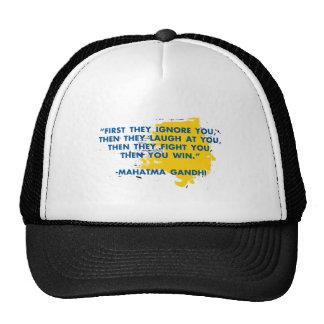 MAHATMA-GHANDI TRUCKER HAT