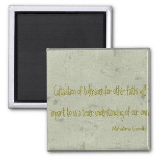 Mahatma Ghandi Quote Fridge Magnets